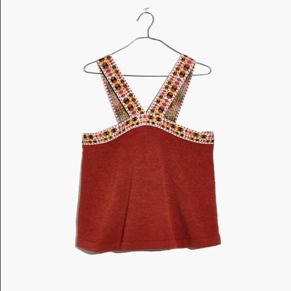 Madewell Tops - ✰ Madewell Embroider Strap Swing Top ✰